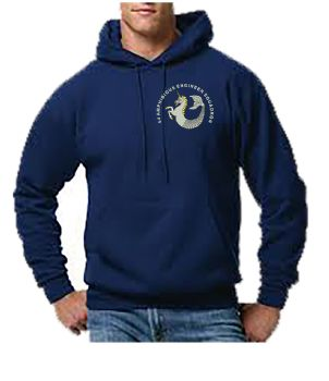 64 Amph Engr Sqn Embroidered Hoodie